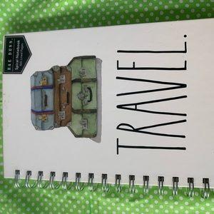 NWT Rae Dunn TRAVEL Spiral Notebook